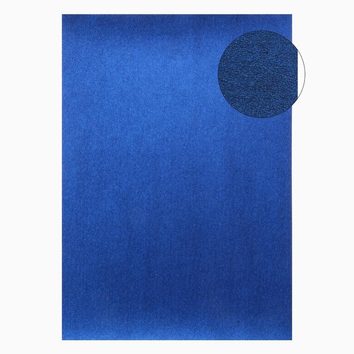 """Бумага для творчества фактурная """"Нити синие"""" А4, набор 100 листов"""