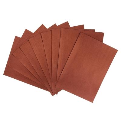 """Бумага для творчества фактурная """"Нити красно-коричневые"""" А4, набор 100 листов"""