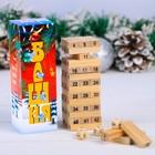 """Падающая башня """"Новогодняя башня - Забавные мышата"""""""