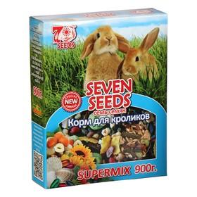 Корм Seven Seeds SUPERMIX Корм для кроликов, 900 г