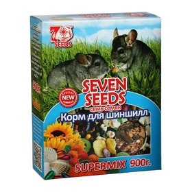 Корм Seven Seeds SUPERMIX для шиншилл, 900 г