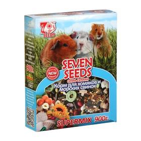 Корм Seven Seeds SUPERMIX для хомяков и морских свинок, 900 г