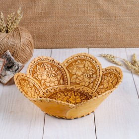 "Plate ""Bouquet"" birch"