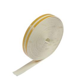 I seal rubber profile, 10 m, white