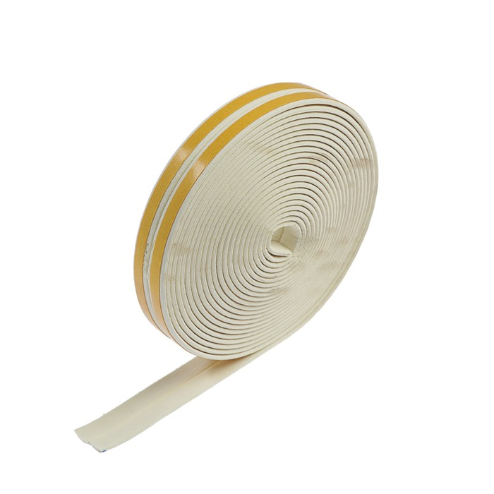 Уплотнитель резиновый I-профиль, 10 м, белый