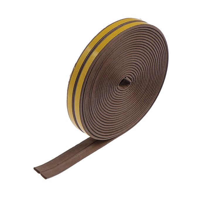 Уплотнитель резиновый I-профиль, 10 м, коричневый