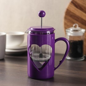 """French press 600 ml """"Compliment"""" purple"""
