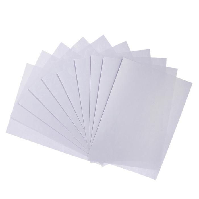 """Бумага для творчества фактурная """"Сердца белые"""" А4, набор 100 л, 80 г"""