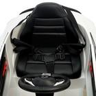 Электромобиль MERCEDES-BENZ C63 S AMG, цвет белый, EVA колеса - фото 105642220