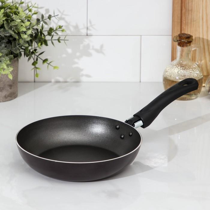 Сковорода блинная 22 см, МИКС, УЦЕНКА