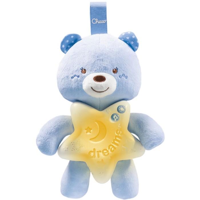 Игрушка-подвеска Chicco «Медвежонок», цвет голубой, от 0 месяцев