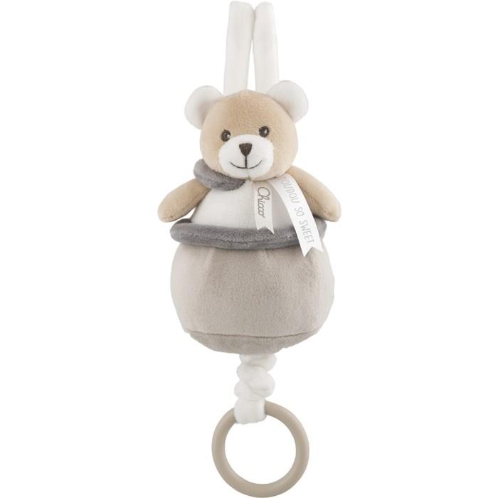 Подвеска мягкая Chicco «Медвежонок Doudou», от 0 месяцев