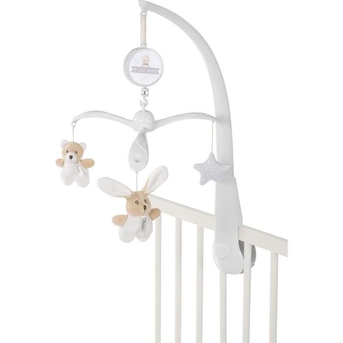 Игрушка-подвеска Chicco Bear & Bunny, от 0 месяцев