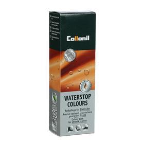 Крем водоотталкивающий Collonil Waterstop tube для гладкой кожи с губкой, цвет белый, 75 мл