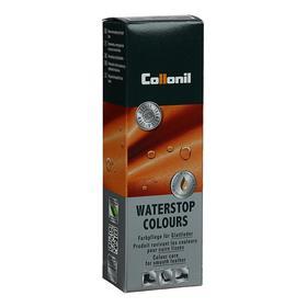 Крем водоотталкивающий Collonil Waterstop tube для гладкой кожи с губкой, цвет бордо, 75 мл