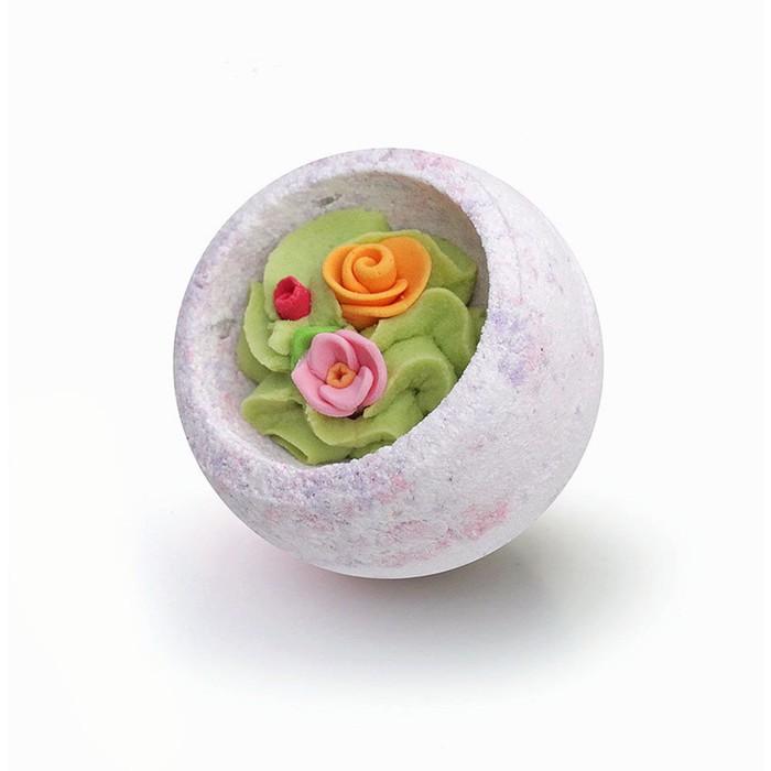 """Шарик-Десерт для ванн Берегиня """"Цветочная корзина"""", 130 г"""