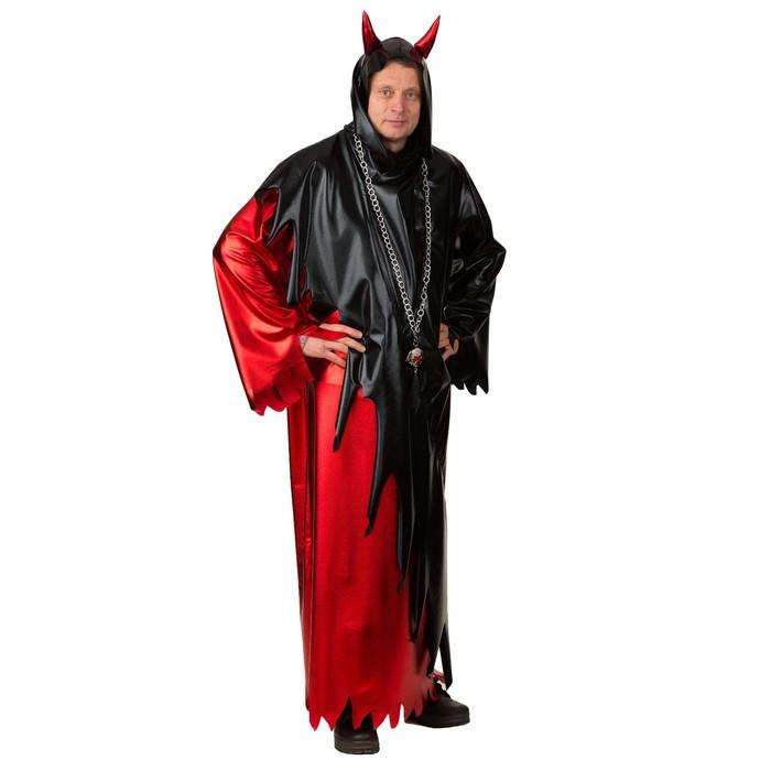 Карнавальный костюм «Дьявол», рубашка, р. 50-52, рост 182 см