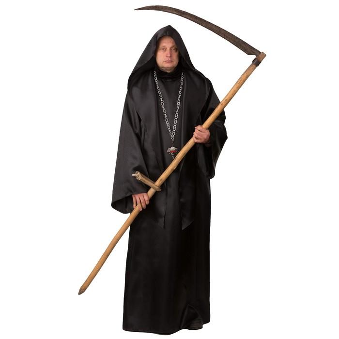 Карнавальный костюм «Смерть», рубашка, р. 50-52