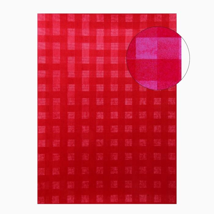 """Бумага для творчества фактурная """"Переплёт красный"""" А4, набор 100 листов"""
