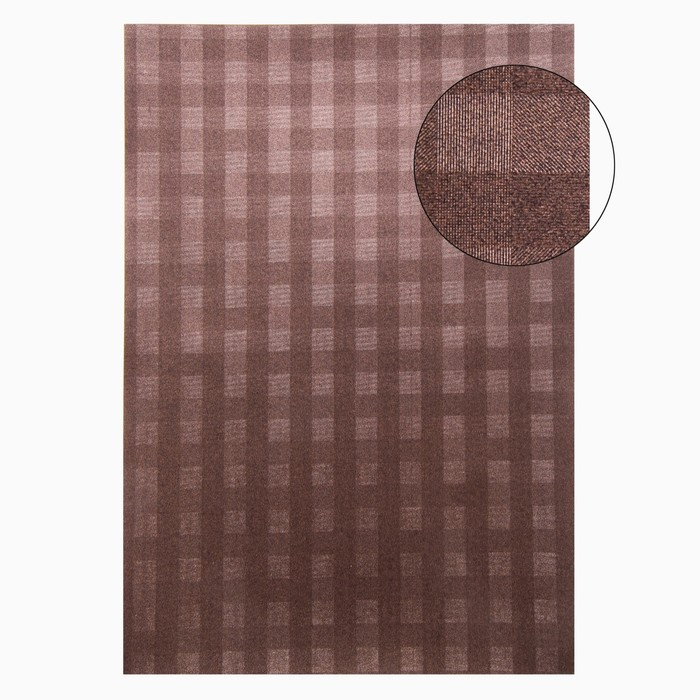"Бумага для творчества фактурная ""Переплёт. Шоколад"" А4, набор 100 листов"