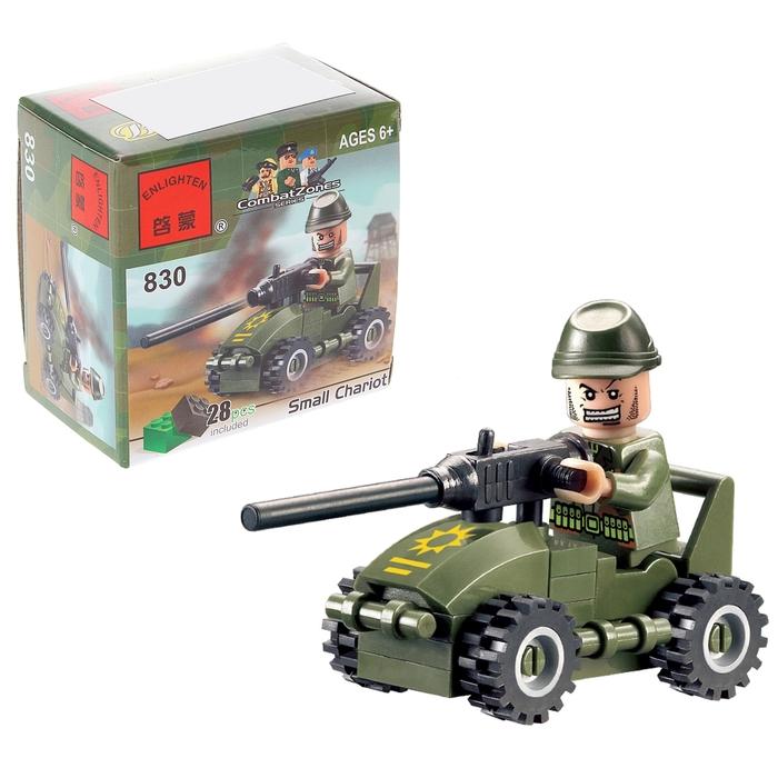 Конструктор «Пулемётчик», 28 деталей