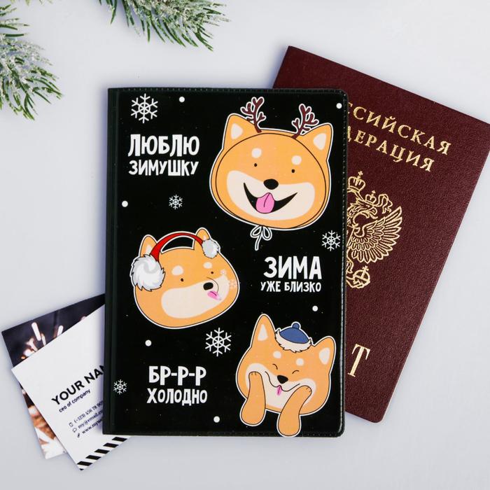 """Обложка для паспорта """"Зима уже близко"""""""