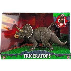 Фигурка динозавра «Трицератопс», 16 см, цвет МИКС