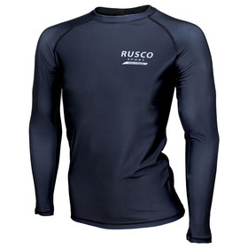 Rashguard for MMA Rusco Sport ONLY BLACK adult, size S