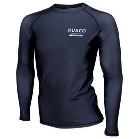 Рашгард для MMA Rusco Sport ONLY BLACK взрослый, размер XS