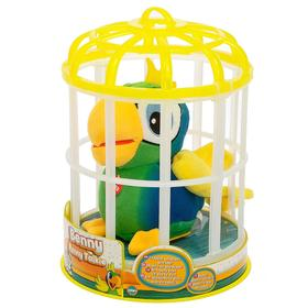 Игрушка интерактивная «Попугай Benny», цвет зелёный, повторяет слова