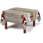 Скатерть «Новогоднее украшение», размер 120 × 145 см