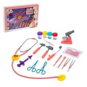 Игровой набор доктора «Терапевт», со световыми и звуковыми эффектами