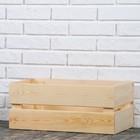 Ящик деревянный, 48х20х28 см