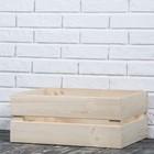 Ящик деревянный, 48х20х34 см
