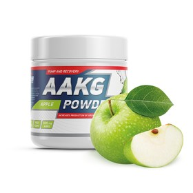 AAKG powder Geneticlab, яблоко, 30 порций/150 г.
