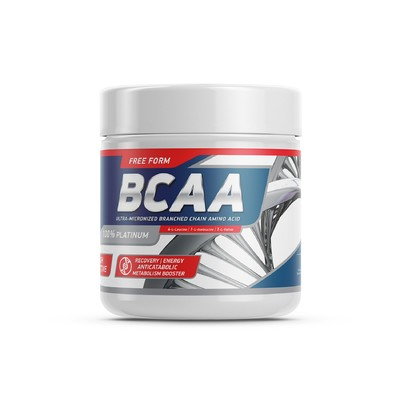 Geneticlab BCAA powder, unflavored 20 servings/200 g