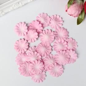 """Набор бумажных лепестков """"Нежно-розовый"""" 30 шт, d-36 мм"""