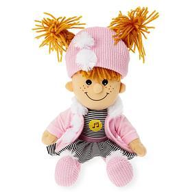 Мягкая кукла 35 см, звуковые эффекты, 4 стиха и песни А.Барто