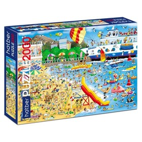 Пазл 2000 элементов «Пляж»