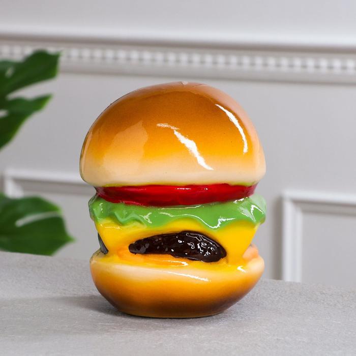 """Копилка """"Гамбургер"""", разноцветная, керамика, 17 см"""