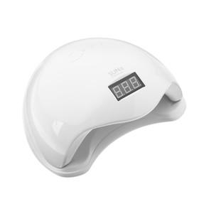 Лампа для гель-лака JessNail SUN 5, UV/LED, 48 Вт, 24 диода, таймер 10/30/60 сек, белая