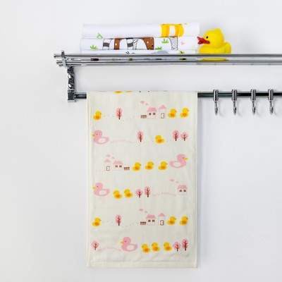 Towel double-sided Baby I Barnacles wheel drive.pink 25 x 50 cm 100% cotton