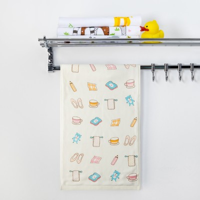"Towel double-sided Baby I am a ""Morning"" 25 x 50 cm 100% cotton"