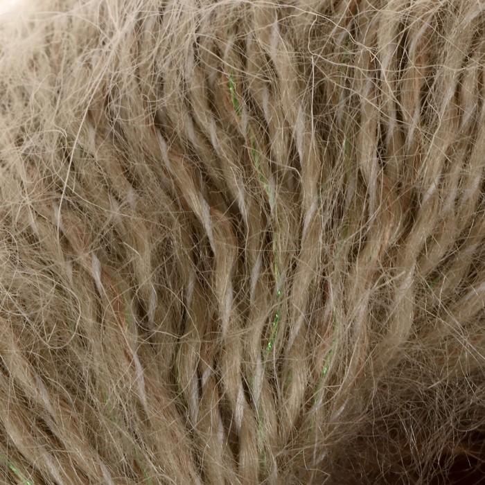 "Пряжа ""Лада с люрексом"" 65% мохер, 25% шерсть, 7% акрил, 3% метанит 120м/50гр (5132) - фото 700540546"