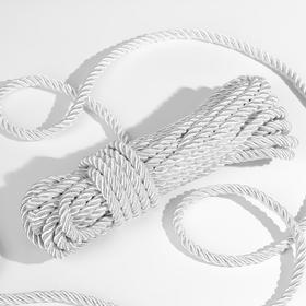 Cord twisted 10 ± 1m d8mm No. 34 white.