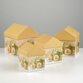 Set boxes 4in1 15*15*18/13,5*13,5*16,5/12*12*15/10,5*10,5*13 cm