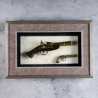 The product is the souvenir in a frame: 2 musket, 55*36cm