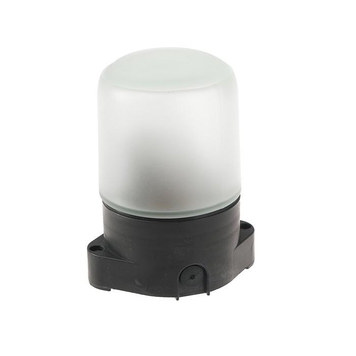 Светильник для бани/сауны ITALMAC Sauna 01 01, 60Вт, IP65, Е27, цилиндр прямой,черный +130°C
