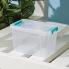 Контейнер 375 мл Smart Box, цвет прозрачно-серый