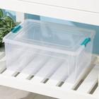 Контейнер 7,9 л Smart Box, цвет прозрачно-бирюзовый